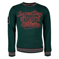 Superdry Academy Tipped Applique Crew